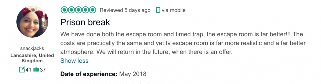 Best Escape Games